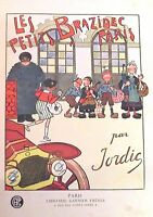 Ancien livre illustré 1920 environ les petits BRAZIDEC à PARIS vintage