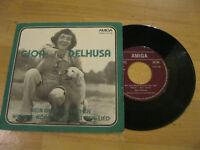 "7"" Single Gjon Delhusa Mein erstes Mädchen Vinyl Amiga DDR 4 56 165"