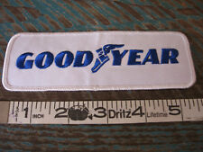 GOODYEAR TIRES RACING PATCH TIRE RUBBER COMPANY NASCAR SCCA CAN AM RACING IMSA