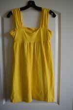VICTORIA SECRET YELLOW SHORT DRESS BRA TOP!  SIZE MEDIUM