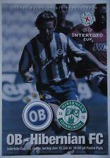 Programm UEFA Intertoto 15.7.2006 Odense BK - Hibernian FC