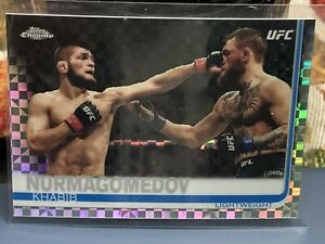 Topps Chrome UFC Khabib Nurmagomedov Super Refractor