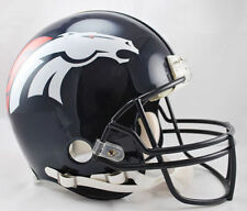 DENVER BRONCOS NFL Riddell Pro Line AUTHENTIC VSR-4 Football Helmet