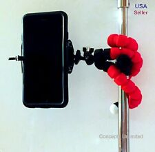 Tripod Stand Flexible Adjustable Mount Mini Octopus Holder - GoPro Camera iPhone