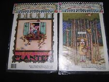 2 Mary Engelbreit Iron-On Transfers Bloom Where You're Planted & I'm Lost