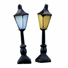 2 Pcs Model Street Light Garden Lamppost For Plants Ornament Fairy Garden Craf