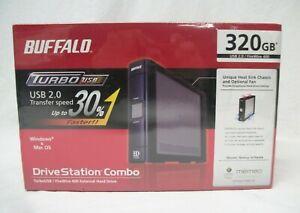 Buffalo Drive Station Combo TurboUSB/ FireWire 400 External HD 320GB HD-HS320IU2