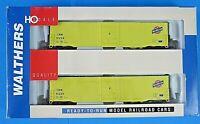 WALTHERS HO SCALE Pullman Standard 91223 & 91230 Box Car ~ 2 PACK ~ NIB NEW