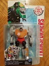 Transformers Robots in Disguise Warrior Class Gold Armor GRIMLOCK Figure Sealed!