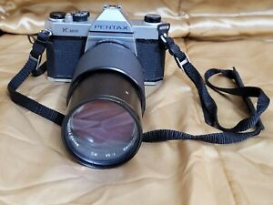 PENTAX K1000 35mm SLR Film Camera WORKS! PLEASE READ!