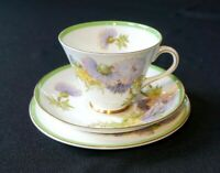 Beautiful Royal Doulton Glamis Thistle Trio