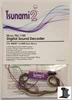 Soundtraxx ~ New 2020 ~ Tsunami 2 ~ TSU-1100 EMD Diesel ~ Sound Decoder ~ 885001