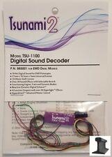 Soundtraxx ~ New 2020 ~ Tsunami 2 ~ TSU-1100 EMD Diesel ~ Sound Decoder ~ 885001