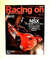 Collectible & Rare Motorsport magazine Racing on Vol 428 Featuring Honda Nsx !