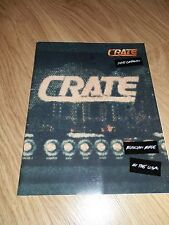 1995 Crate Amplification Catalog