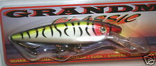 "6"" Deep Diving Shad Grandma Lure Crankbait Musky Pike Tiger Clown G6DD-40"