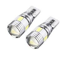 2 Bombillas T10 LED, Canbus, chip 5630 5W5, carcasa de aluminio.