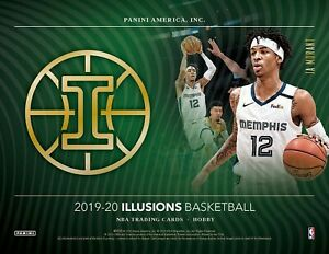 2019-20 Panini Illusions NBA Basketball Hobby 3 Box Break   Nets   #IL1