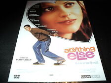 "DVD NEUF ""ANYTHING ELSE"" Christina RICCI Jason BIGGS Danny DeVITO / Woody ALLEN"