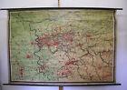 Schulwandkarte Wall Map Old Beautiful Card Rheinisch-Westfälisches 228x156 ~
