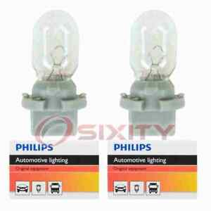 2 pc Philips Map Light Bulbs for Plymouth Grand Voyager Voyager 1999-2000 yb