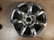 "Infiniti QX56 chrome wheel OEM 18 x 8"" 2004-2007 403007S511 Used Wheel See Pics"