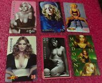 Lot Madonna 6 Phone Cards