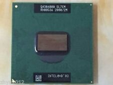 1pcs Intel Pentium M PM 755 2.0Ghz 2MB 400 SL7EM Mobile CPU Test ok