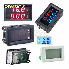 Dual LED Digital Voltmeter Amperemeter DC 0-100V/AC 80-300V 5/10/20/50/100A B2SA