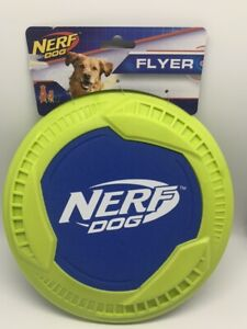 NERF DOG FLYER, 9-Inch Neon Green - BRAND NEW