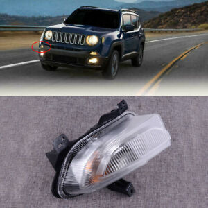 Quality Right Daytime Running Turn Signal Fog Lamp Fit for Jeep Renegade 15-2018