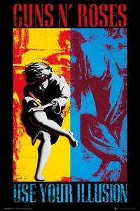 Guns N' Roses Poster Use your Illusion 61 x 91,5 cm Plakat Wanddeko Dekoration