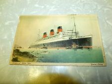 Vintage Queen Mary Cunard White Line