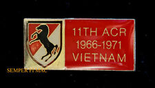 US ARMY 11TH ARMORED CAVALRY ACR 1966-1971 VIETNAM HAT PIN CAV FORT IRWIN CA