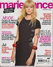 MARIE FRANCE JANVIER 2013, NOUVELLES RUBRIQUES, SPECIAL ASTRO 2013.