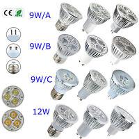 LED 9W 12W MR16 E27 GU10 Cool Warm White Epistar LED Bulb Lamp Light
