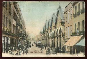 Channel Islands JERSEY Halket Place 1904 street scene PPC