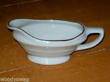 Shenango China Vintage Small Gravy Boat Or Creamer HTF Kitchen Serving