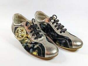 Womens XOXO Casual Multicoloured Fancy Steampunk Style Shoes US 5.5 EUR 36 UK 4