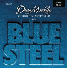 DEAN MARKLEY Jeu cordes électrique BLUE STEEL LTHB 10-52 Médium - 2558