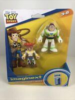 Imaginext Disney Toy Story Buzz Lightyear & Jessie Figures