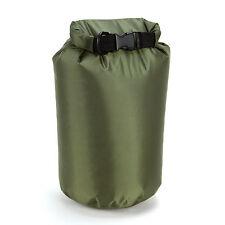 Armée vert 4L dry sack sac Imperméable Sac Pli canoë kayak voile bateau Radeau Swim