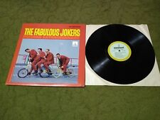 """GUITARS EXTRAORDINARY""      FABULOUS JOKERS       STEREO MONUMENT  LP"