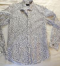 Anthony Morato Men's Slim Fit, Black & White Print Shirt 100% Cotton
