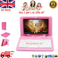 7'' Kitoch Kid Tablet Android 4.4 Wifi Quad Core Camera with Keyboard Christmas
