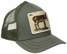 New Goorin Bros Olive Donkey Ass Mens Trucker Hat