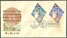 1961 Honoring PHILIPPINE GOVERNMENT EMPLOYEES ASSOCIATION First Day Cover - C