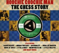 Hoochie Coochie Man-Chess Story 2-CD NEW SEALED Chuck Berry/Muddy Waters/El-Rays