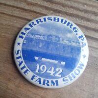 Vintage 1942 Pennsylvania Farm Show  PINBACK BUTTON Pin, PA