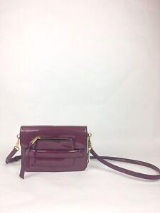 Marc Jacobs Madison Patent-Medium Shoulder Bag Iris $425